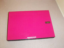SPECIAL! HOT PINK FAST Slim WIN7 WIDE SCREEN WEBCAM,DUAL CORE1.6GHz,2G,160G