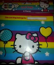 New  package loot bags hello kitty candy bags favors 8