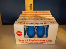 C9 Replacement Bulbs Blue 120v 7w Outdoor Intermediate Base 20ct 0095 243