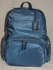 Tumi 484707 Voyageur Calais Backpack Womens Laptop Bag Boarding Tote Turquoise
