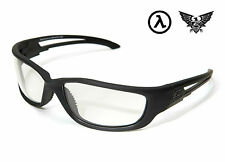 EDGE TACTICAL EYEWEAR BLADE RUNNER XL BLACK / CLEAR LENS