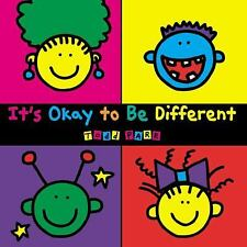 *NEW* It's Okay To Be Different by Todd Parr (Paperback) *FREE SHIPPING*