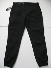 POLO RALPH LAUREN Men's Black Straight-Fit Stretch Cargo Jogger Pants 38x30
