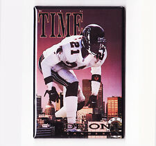 DEION SANDERS / BIG TIME - COSTACOS BROTHERS POSTER MAGNET (nike atlanta falcons