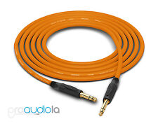 "Canare Quad L-4E6S Cable | Neutrik Gold 1/4"" TRS 