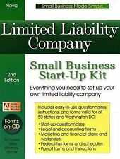 Limited Liability Company: Small Business Start-Up Kit (Small Business Made Simp