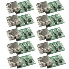 10Stk DC-DC Boost Converter 0.9V-5V to 5V 600mA Step Up USB Charger Power Module