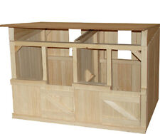 2 Stall Wooden Stable / Barn Great for Breyer Horses