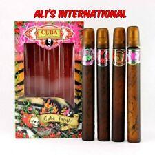 Cuba Jungle For Women 4pcs set * 1.17fl oz edp 35ml Eau De Parfum New in the box