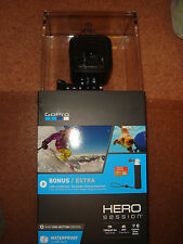 GoPro HERO Session Bundle with SD card and Handler- BRAND NEW & SEALED!