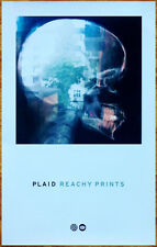 PLAID Reachy Prints 2014 Ltd Ed RARE New Poster +FREE Electronica/Dance Poster!