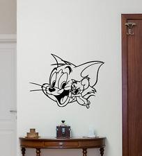 Tom and Jerry Wall Decal Cartoon Vinyl Sticker Nursery Decor Art Poster 209zzz