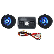 "7/8"" Bar Stereo FM MP3 Audio Speaker For Honda VTR 1000 Interceptor Super Hawk"