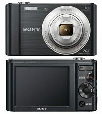 SONY CYBER-SHOT DSC-W810 20.1 MP DIGITAL CAMERA 6X OPTICAL ZOOM - BLACK