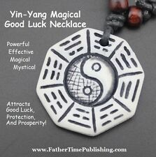 Yin Yang Magical Good Luck Money Amulet Helps You Win Lottery & Gambling Prizes!
