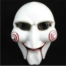Saw Jigsaw Puppet Face Mask Horror Dress Up Halloween Costumes Party Book Week#