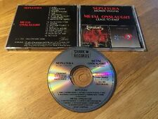SEPULTURA / METAL ONSLAUGHT morbid visions / cease to exist ORG 1989 Shark
