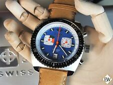 ZODIAC Limited Edition SEA DRAGON with Leather Diving WATCH ZO2213 Chronograph