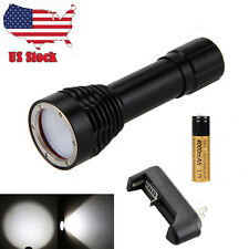 100M Dive 2500Lm 3x CREE XM-L2 LED Scuba Diving Flashlight Torch Underwater Lamp