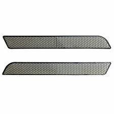 Pair Clear Reflectors for Harley Latch Covers Hard Saddlebags Side Visibility