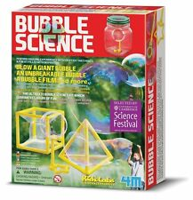 BUBBLE SCIENCE - BLOW A GIANT UNBREAKABLE BUBBLE KIDZ LABS KIDS SCIENCE KIT 4M