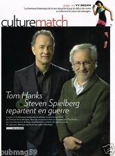 Coupure de Presse Clipping 2010 (3 pages) Tom Hanks Steven Spielberg