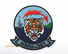 HMH-361 FLYING TIGERS PATCH US MARINES MCAS USS CH-53 E MAG-16 3D MAW PIN UP WOW