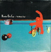 """45T 7"""" : Number One Cup: the monkey song. blue rose. yellow vinyl indie"""