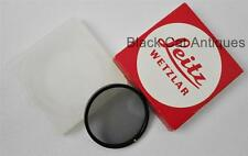 Leica Filter P-Cir Circular Polarizing Filter -Original Case & Box Leitz Wetzlar