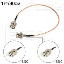 CGPro Ultra Thin BNC to BNC HD-SDI 3G-SDI Cable(1FT/30CM) UK!