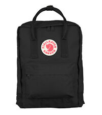 New Women Men Fjallraven Kanken 23510 Classic Backpack (#550 Black)