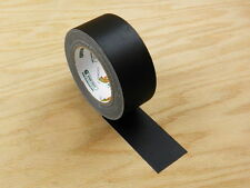 "Duck Brand 2"" Floor Stage Show Audio Cloth Black Gaffers Tape 75' 25 yd"