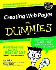 Creating Web Pages For Dummies (For Dummies (Computers)), Bebak, Arthur, Smith,