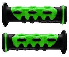 YAMAHA ATV GRIZZLY 400 450 550 660 700 GREEN KNOBBY HANDLEBAR BAR GEL HAND GRIPS