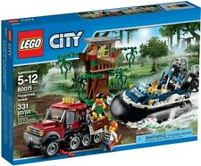 Lego 60071 City Swamp Police Hovercraft Arrest