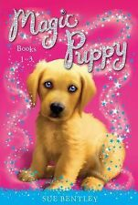 Magic Puppy: Books 1-3 by Sue Bentley (2014, Paperback)