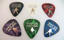 GEORGE MICHAEL WHAM ANDREW RIDGELEY  print Guitar plectrum pick medium 0.71mm
