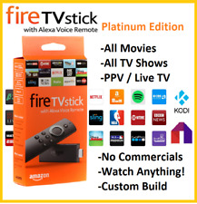 New Quad Core Amazon Fire TV Stick Jailbroken Fully Loaded MOBDRO KODI 16.1 ~~~