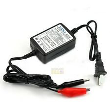 New 12V 1300mA Battery Trickle Charger Auto Car/Van/Motorcycle Tender Maintainer
