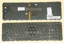for HP ENVY /Pavilion M6-1000 M6-1100 Keyboard Backlit Turkey Turkish TürK Black