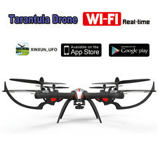 Quadcopter Fpv hd Camera Rc Drone 6 Axis Jjrc Tarantula Wifi 4ch Gyro CLEARANCE