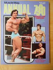 MUSCLEMAG ANNUAL bodybuilding muscle fit magazine/ARNOLD SCHWARZENEGGER 1979/80