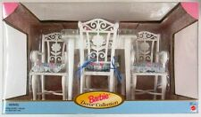 Barbie Dining Room Table and Chairs (Barbie Decor Collection) (NEW)