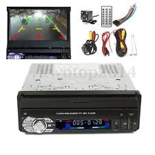 1 Single DIN 7'' HD Touch Screen MP3 MP5 USB Bluetooth Video Player + Camera