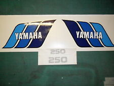 Yamaha TY 250 USA style / Yamaha DT175 / DT250  tank & s/panel decals: - trials