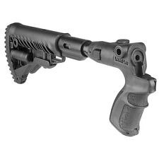 FAB Defense MOSSBERG 500 SHOCK ABSORBING FOLDING BUTTSTOCK Black AGMF 500 FK SB