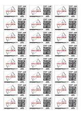 120 Etiquettes autocollantes pour adresses + Mon timbre en ligne - 63,5x33,9mm