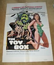 THE TOY BOX  '72   X rated  sex / horror ! Great graphics.  Harry Novak.