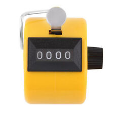 Digital Chrome Hand Held Tally Counter Digit Number Clicker Golf Counter Tool