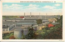 Bird's Eye View of General Electric Co. in Schenectady NY Postcard 1934